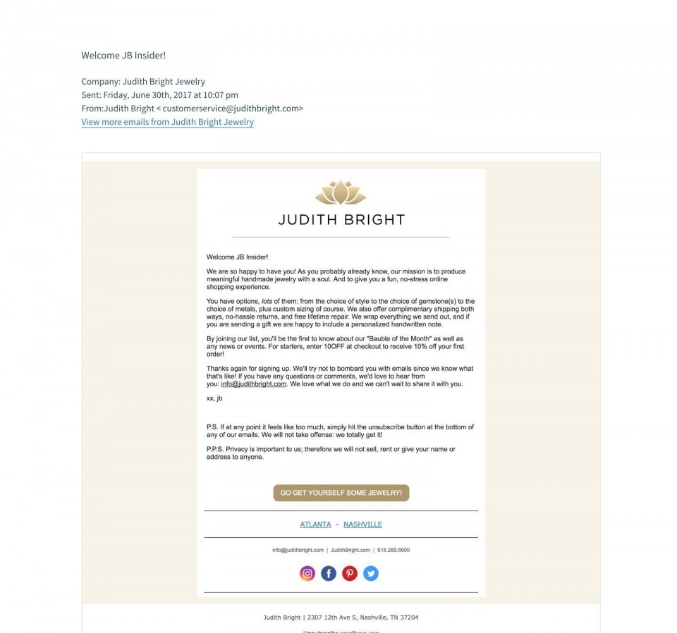 010 Marvelou Join Our Mailing List Template High Definition  Email960