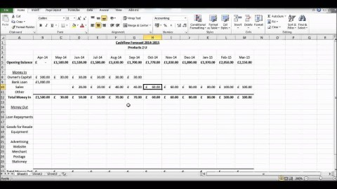 010 Marvelou Monthly Cash Flow Template Excel Uk High Definition 480