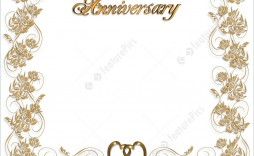 010 Outstanding 50th Anniversary Invitation Card Template High Resolution  Templates Free