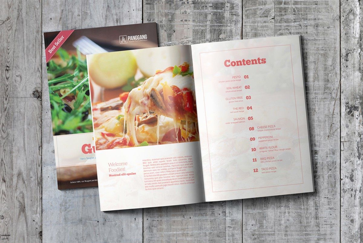 010 Outstanding Free Make Your Own Cookbook Template Download High Resolution Full