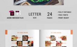 010 Outstanding Make Your Own Cookbook Template Free Design  Download