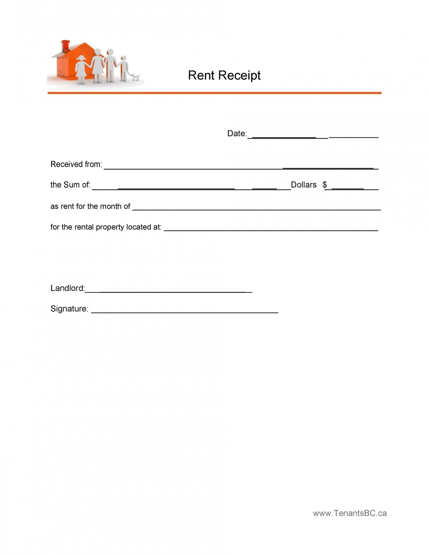 010 Outstanding Rent Receipt Template Docx High Resolution  Format India Word Document Download Doc1400