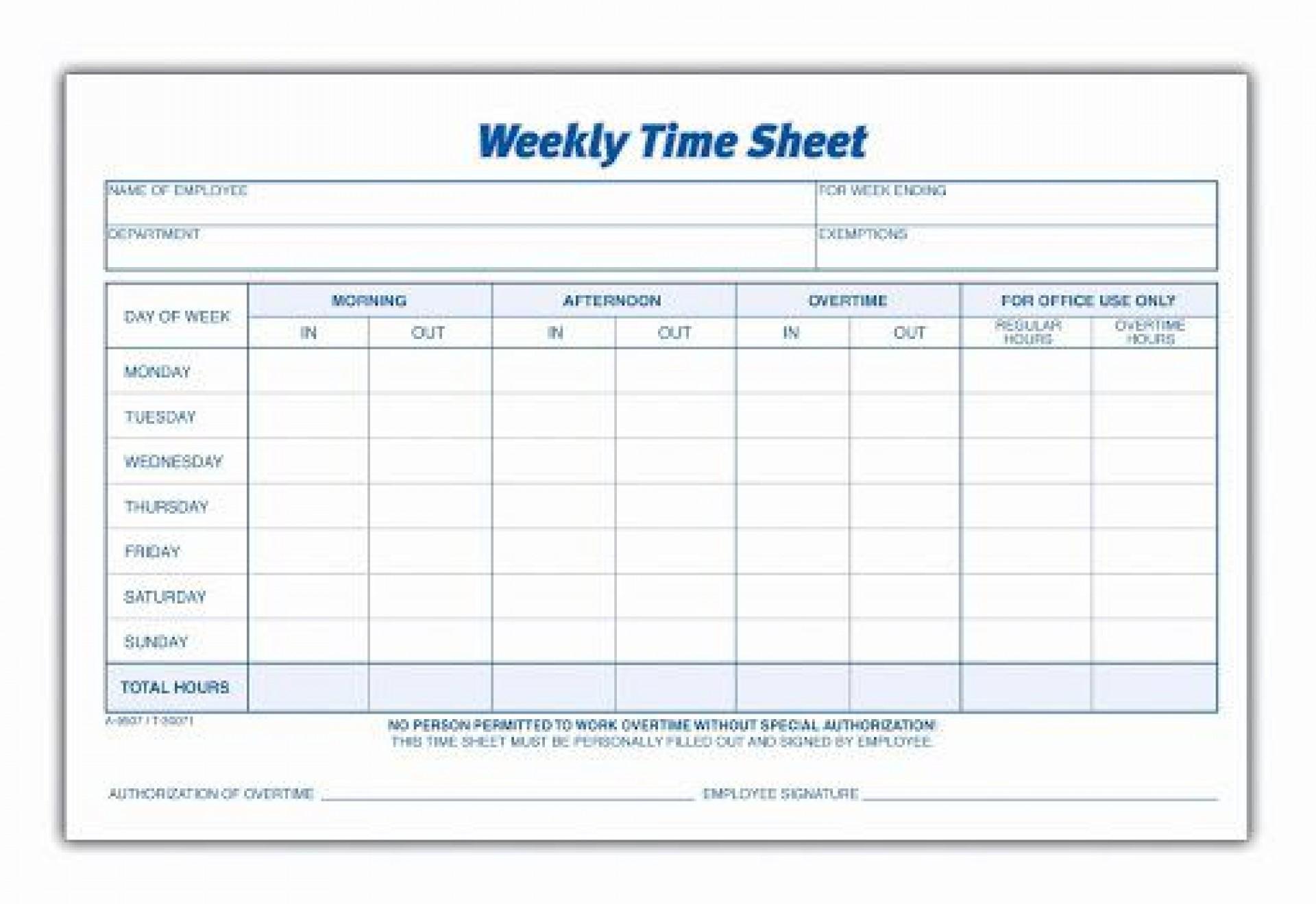 010 Phenomenal Free Employee Sign In Sheet Template Idea  Schedule Pdf Weekly Timesheet Printable1920