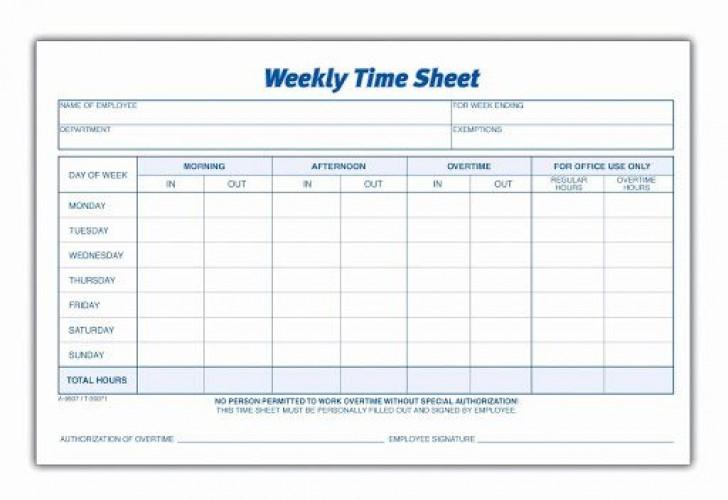 010 Phenomenal Free Employee Sign In Sheet Template Idea  Schedule Pdf Weekly Timesheet Printable728
