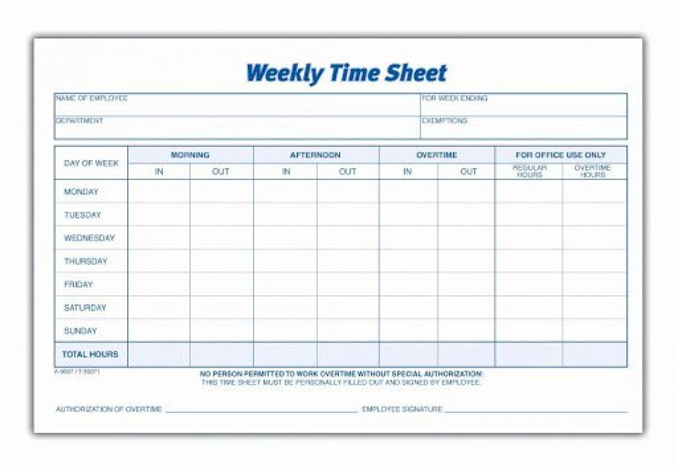 010 Phenomenal Free Employee Sign In Sheet Template Idea  Schedule Pdf Weekly Timesheet Printable960
