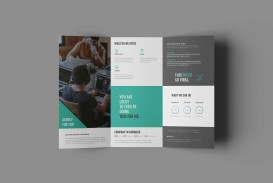010 Phenomenal Free Trifold Brochure Template Photo  Tri Fold Download Illustrator Publisher