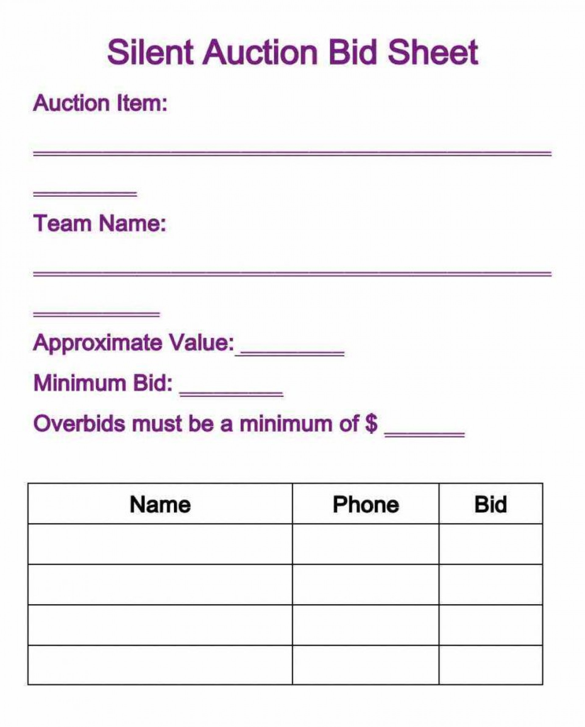 010 Phenomenal Silent Auction Donation Certificate Template Example 1920