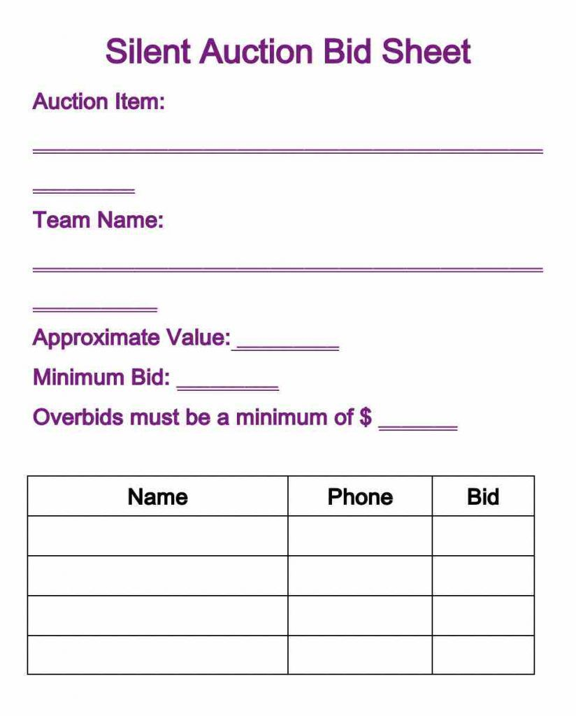 010 Phenomenal Silent Auction Donation Certificate Template Example Full