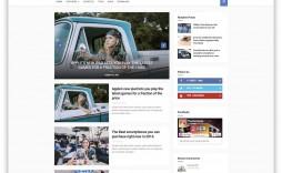010 Rare Best Free Responsive Blogger Template 2019 Sample