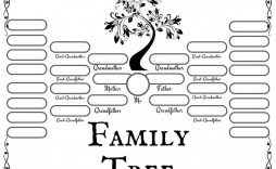 010 Rare Family Tree Template Word Design  Free 2010 Doc Download