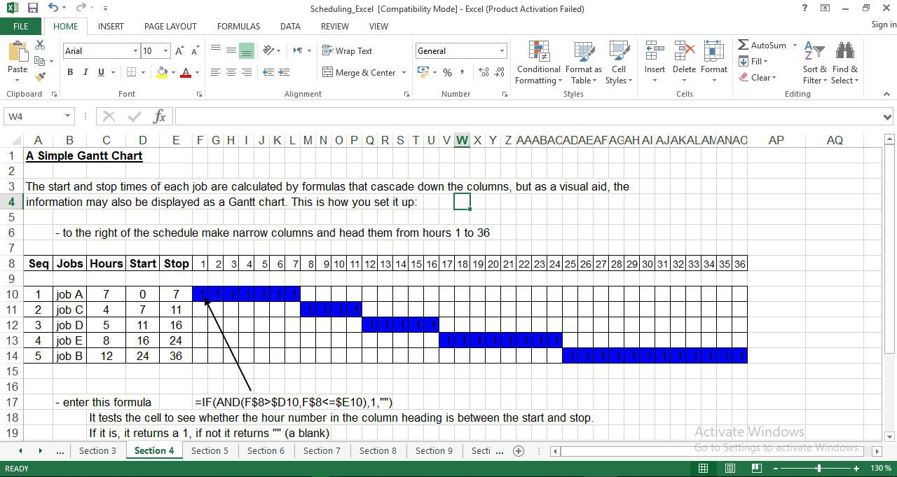 010 Rare Production Schedule Template Excel Sample  Planning Sheet MasterFull