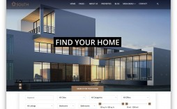 010 Rare Real Estate Website Template High Resolution  Templates Free Download Bootstrap 4 Listing Wordpres