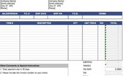 010 Rare Sale Invoice Template Excel Download Free Picture