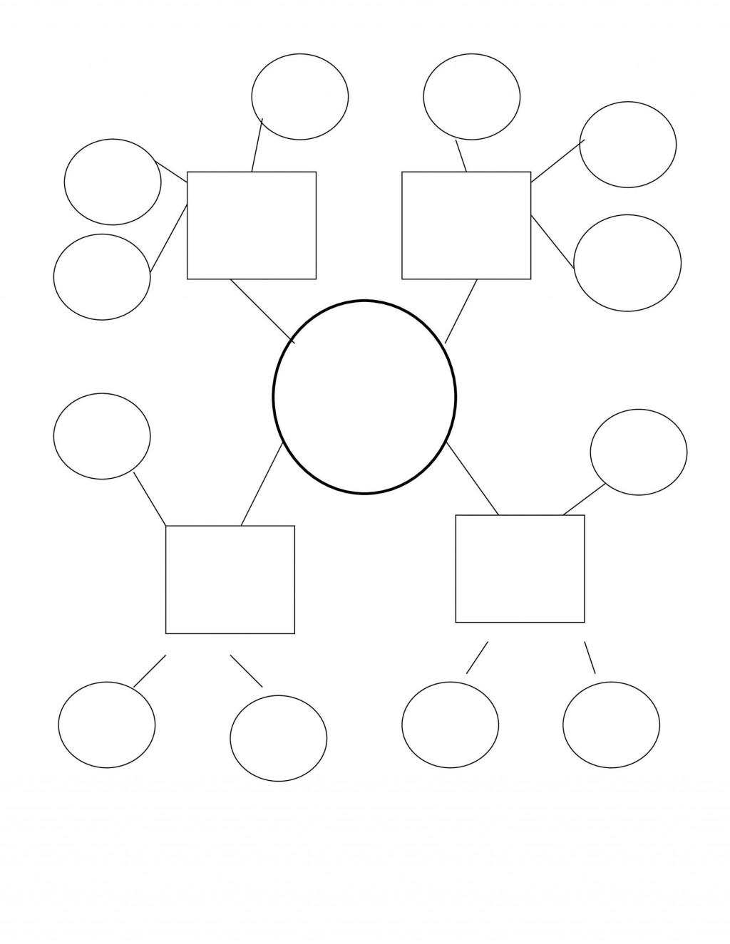 010 Remarkable Free Blank Concept Map Template Sample  Printable NursingLarge