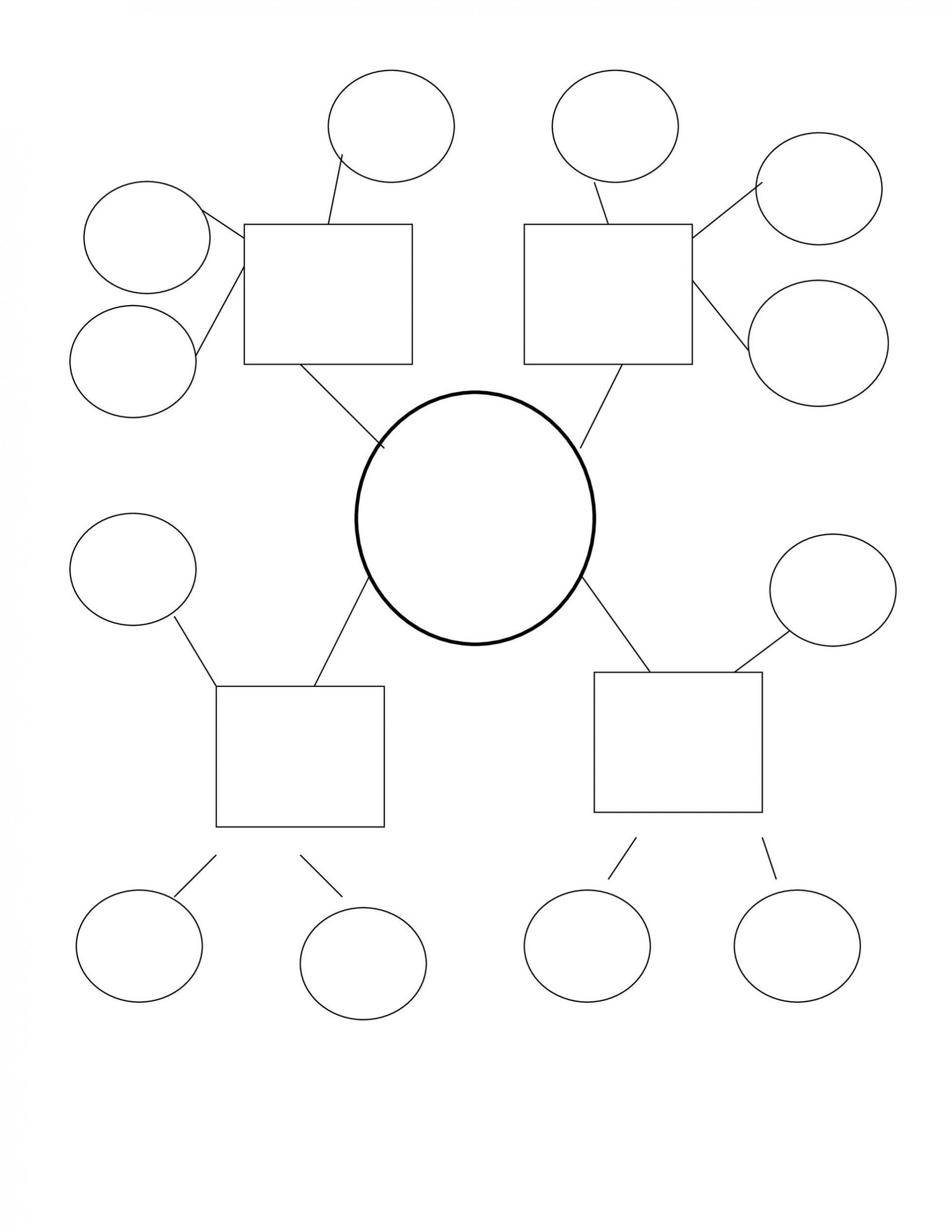 010 Remarkable Free Blank Concept Map Template Sample  Printable Nursing1920