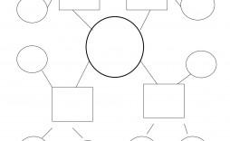 010 Remarkable Free Blank Concept Map Template Sample  Printable Nursing
