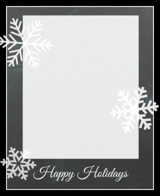 010 Remarkable Free Photo Card Template Idea  Printable Holiday Christma For Word Online320
