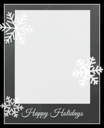 010 Remarkable Free Photo Card Template Idea  Printable Holiday Christma For Word Online360