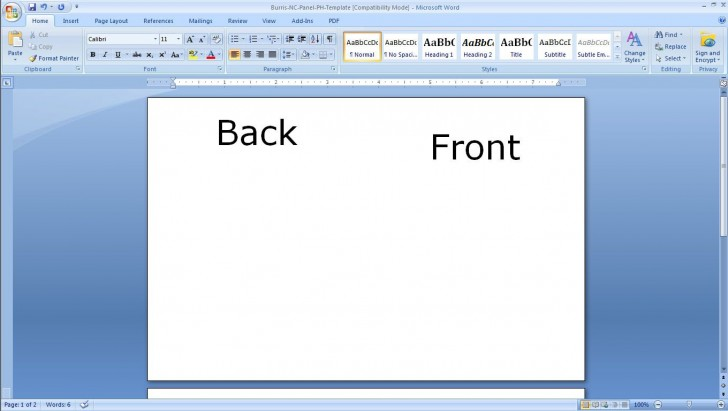 010 Sensational Microsoft Word Card Template High Resolution  Birthday Download Busines Free728