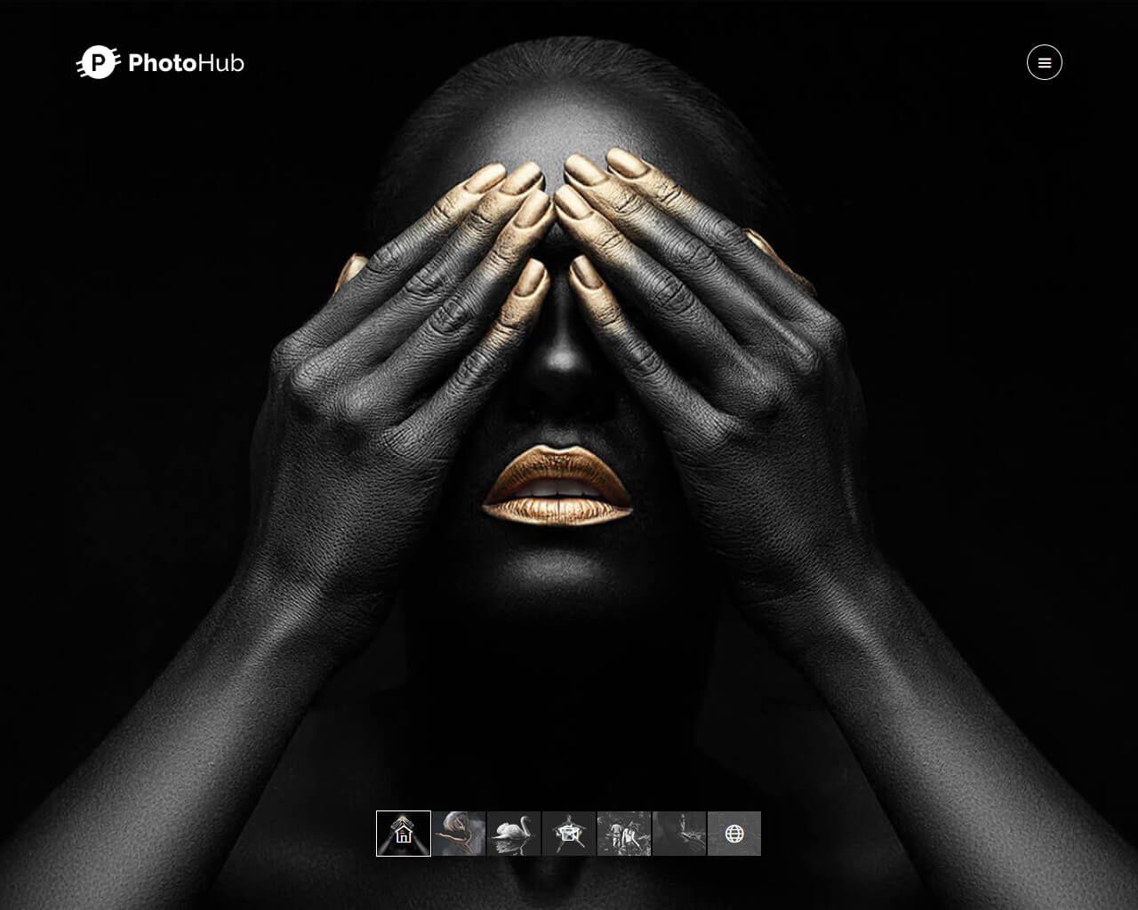 010 Sensational Website Template For Photographer Sample  Photographers Free Responsive Photography Php BestFull