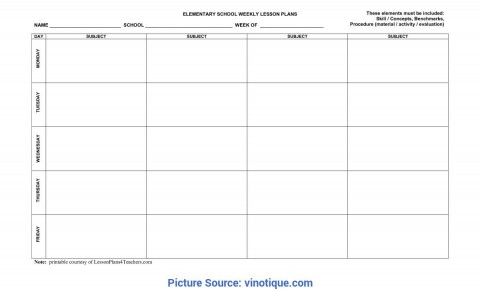 010 Sensational Weekly Lesson Plan Template Inspiration  Blank Free High School Danielson Google Doc480