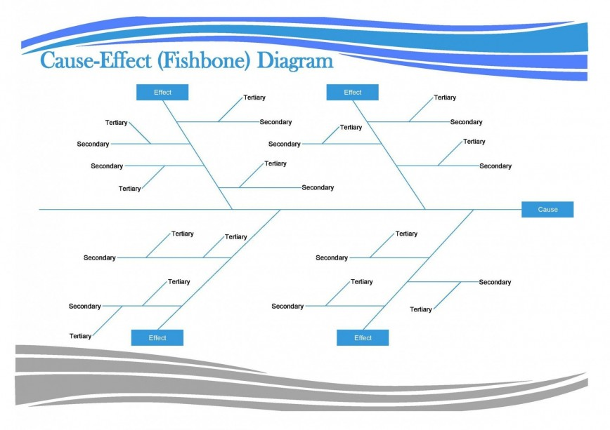 Free Fishbone Diagram Template Word Download Addictionary