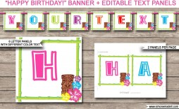 010 Shocking Happy Birthday Banner Template Picture  Microsoft Word Free Printable Dinosaur Black And White
