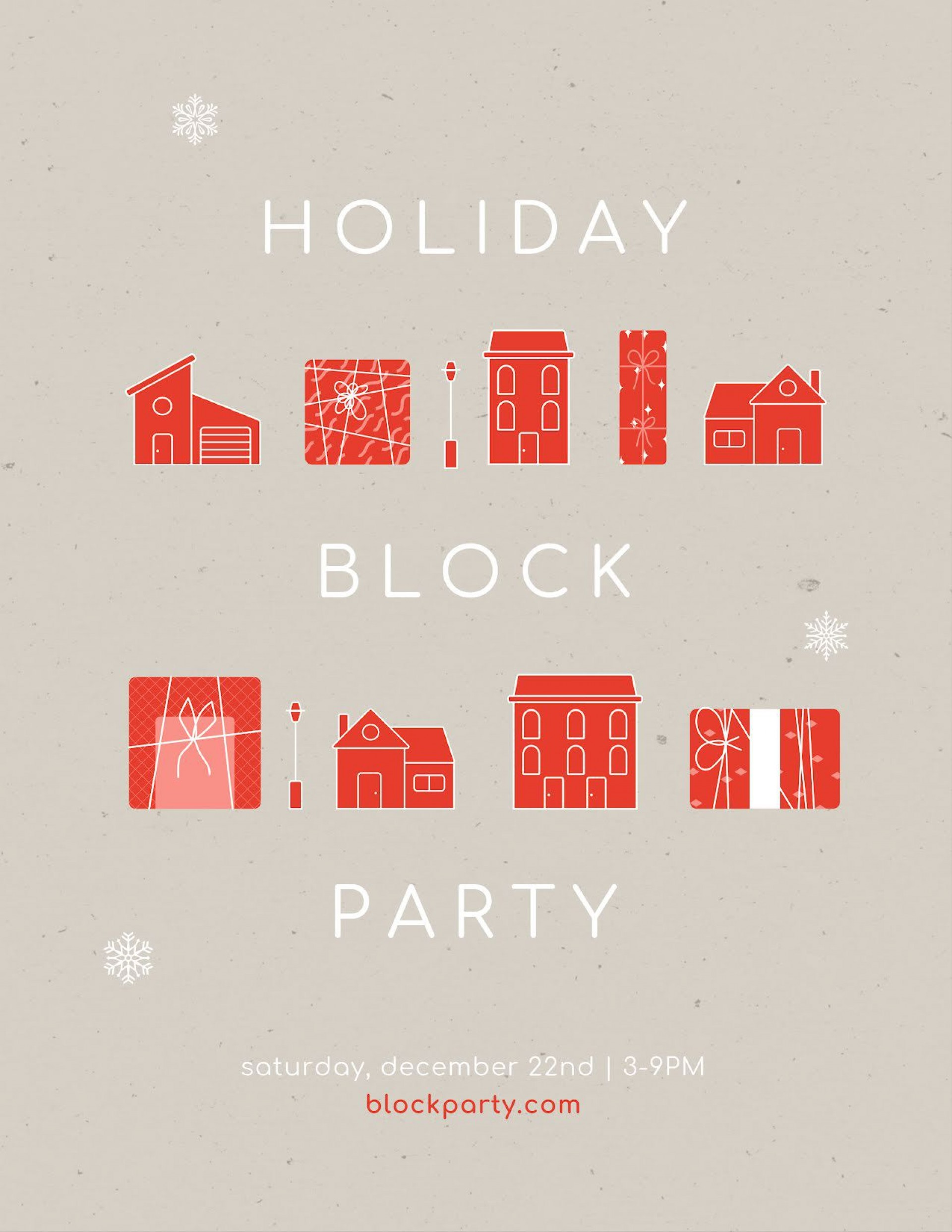 010 Simple Block Party Flyer Template Picture  Templates Free1920