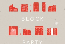 010 Simple Block Party Flyer Template Picture  Free