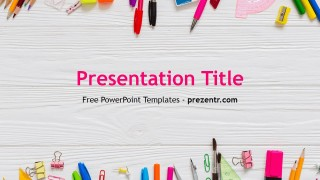010 Simple Free Education Ppt Template Design  Powerpoint For Teacher Creative Download Professional320