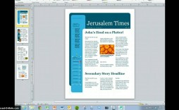 010 Simple Magazine Template For Microsoft Word Highest Quality  Layout Design Download