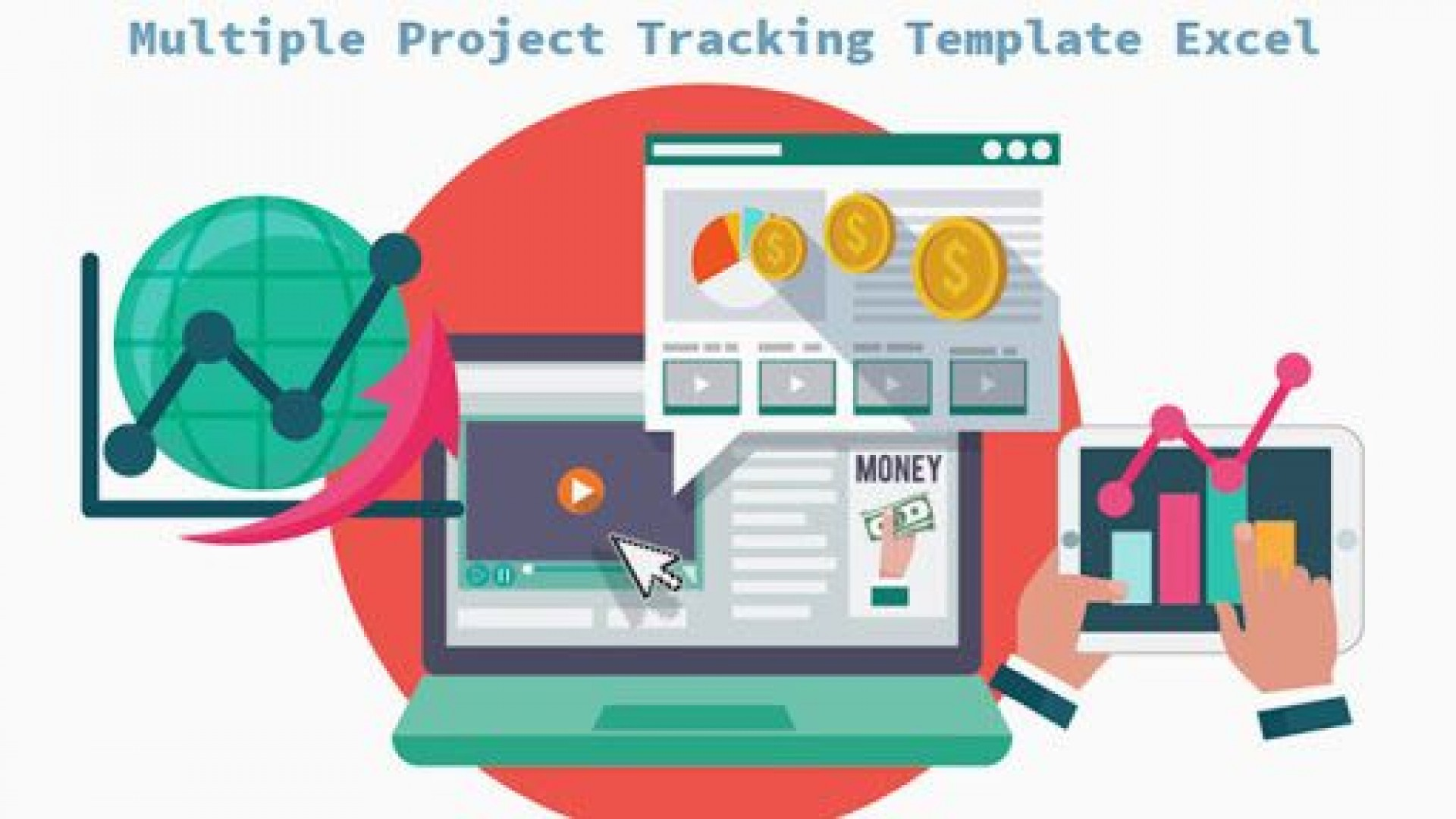 010 Simple Multiple Project Cost Tracking Template Excel Photo  Budget1920