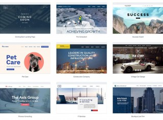 010 Simple One Page Website Template Free Download Html5 Design  Parallax320