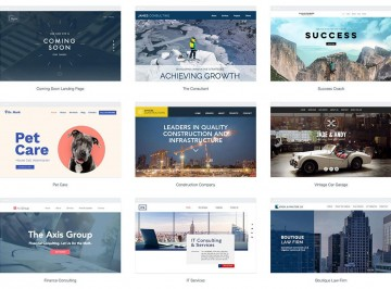 010 Simple One Page Website Template Free Download Html5 Design  Parallax360