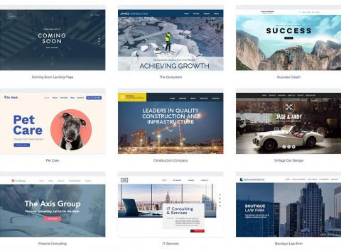 010 Simple One Page Website Template Free Download Html5 Design  Parallax480