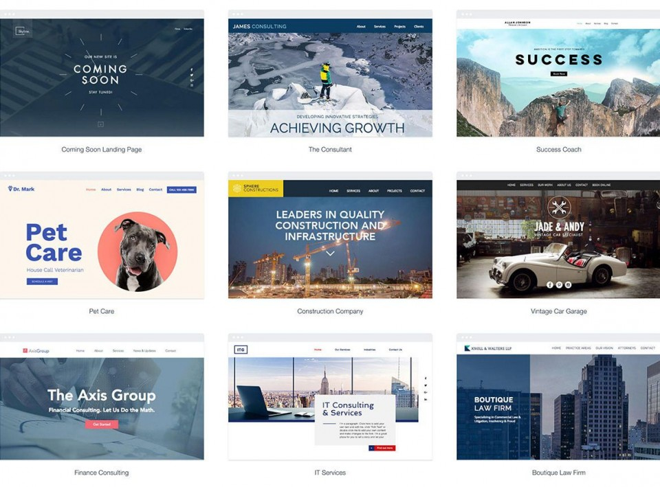 010 Simple One Page Website Template Free Download Html5 Design  Parallax960