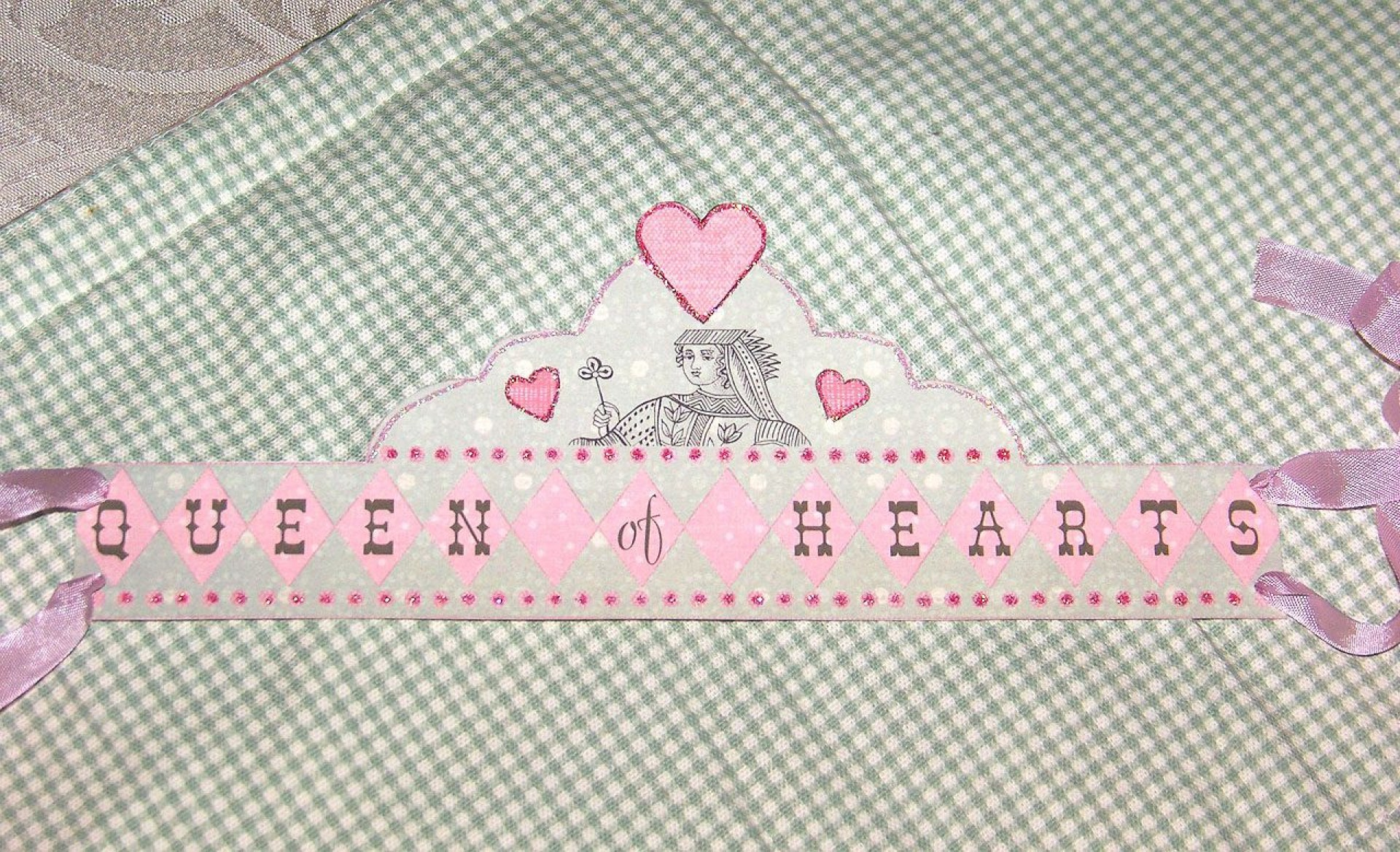 010 Simple Queen Of Heart Crown Printable Idea  Template1920