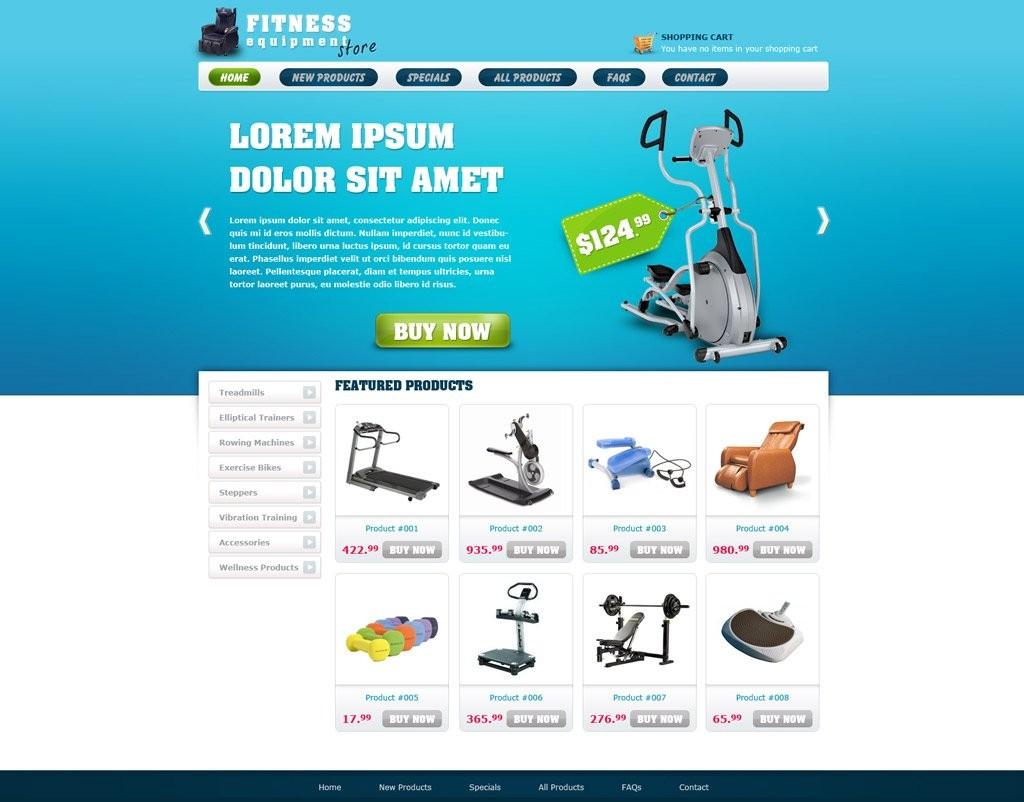 010 Singular Free E Commerce Website Template Image  Ecommerce Html Cs Bootstrap PhpLarge