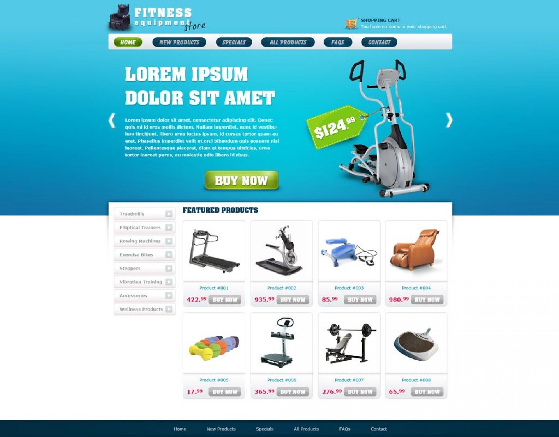 010 Singular Free E Commerce Website Template Image  Ecommerce Html Cs Bootstrap Php1920