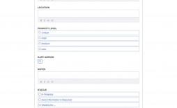 010 Singular Maintenance Work Order Template Picture  Form Free Sample