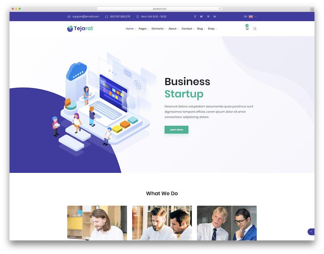 010 Singular Mobile Friendly Website Template Image  BestFull