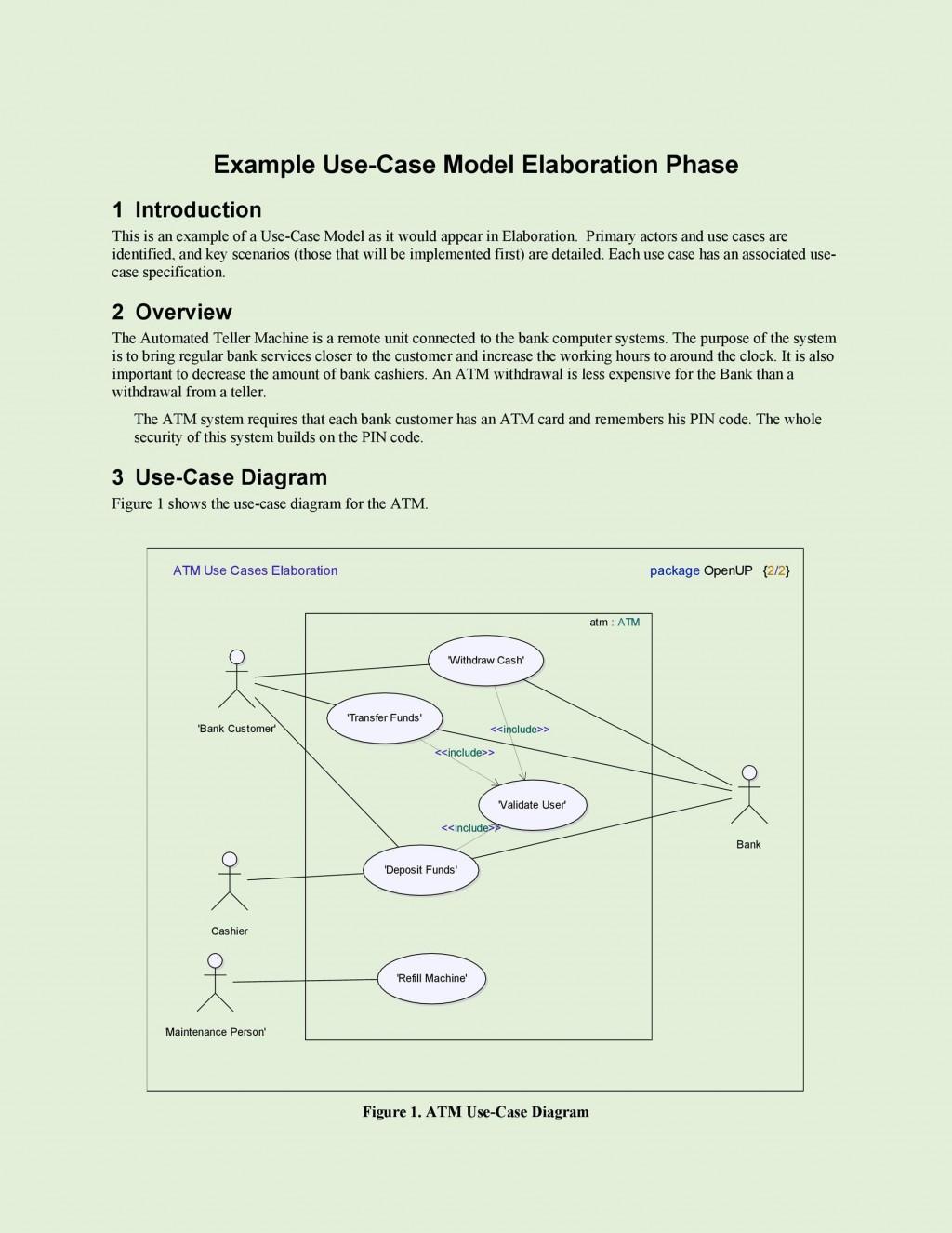 010 Singular Use Case Diagram Template Free Sample Large