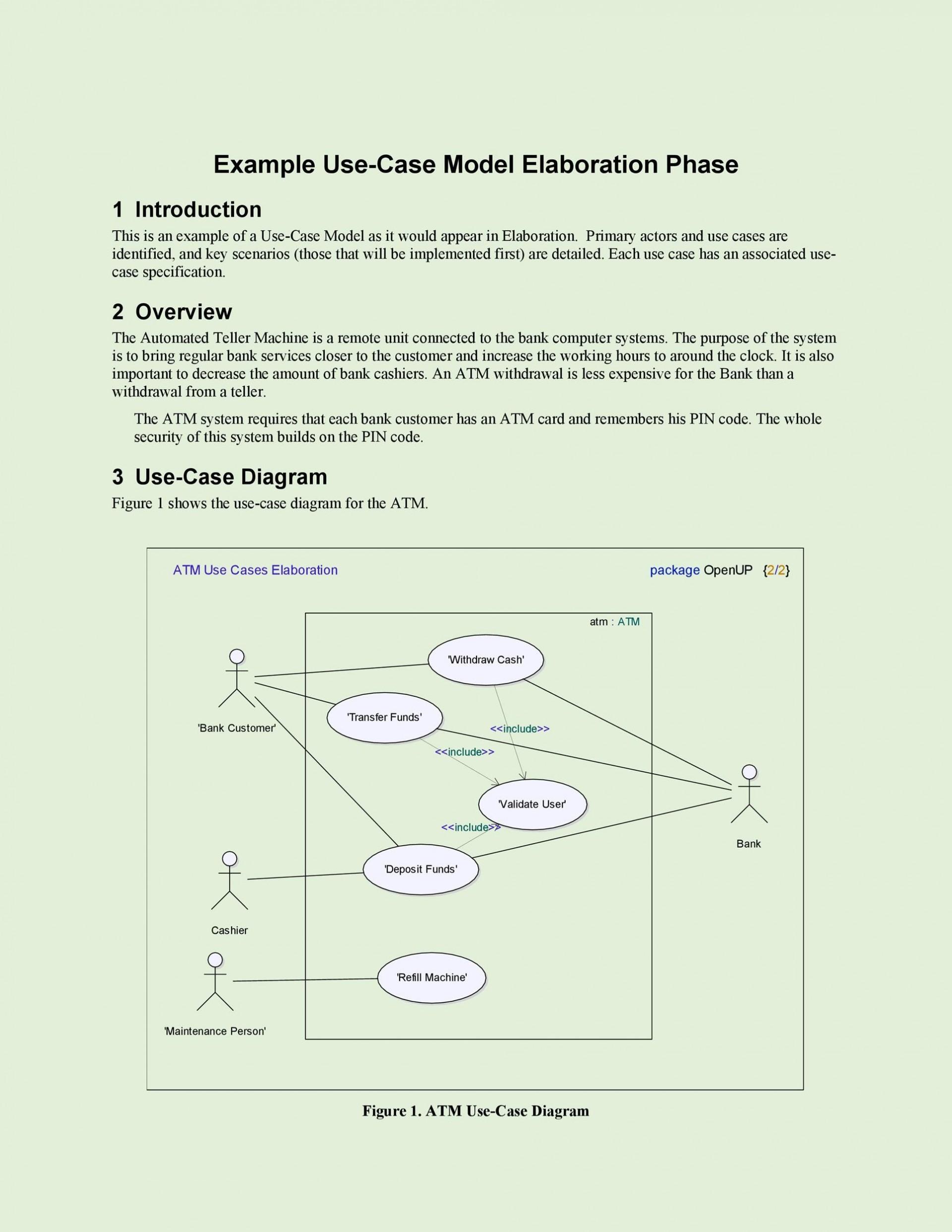010 Singular Use Case Diagram Template Free Sample 1920
