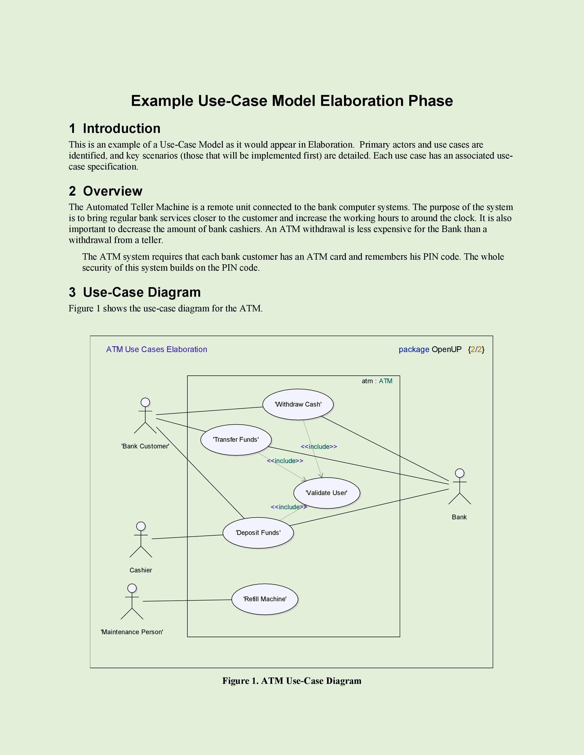 010 Singular Use Case Diagram Template Free Sample Full