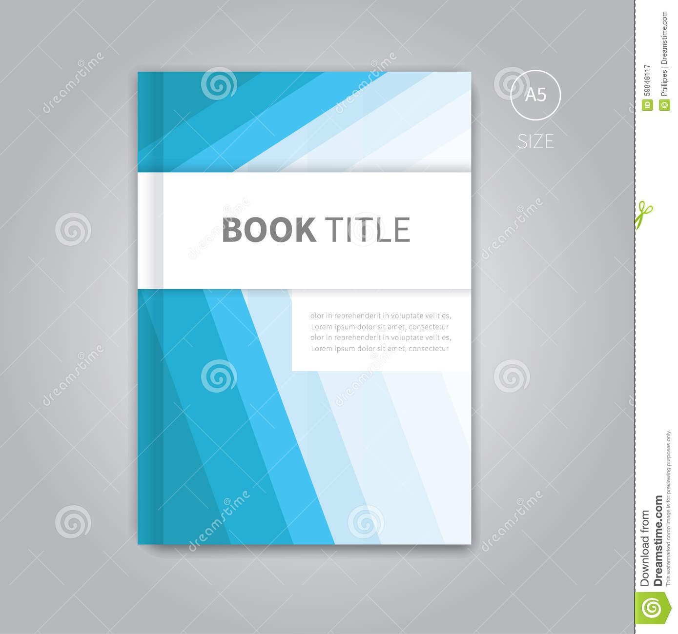 010 Staggering Book Cover Template Free Download Highest Clarity  Illustrator Design Vector IllustrationFull