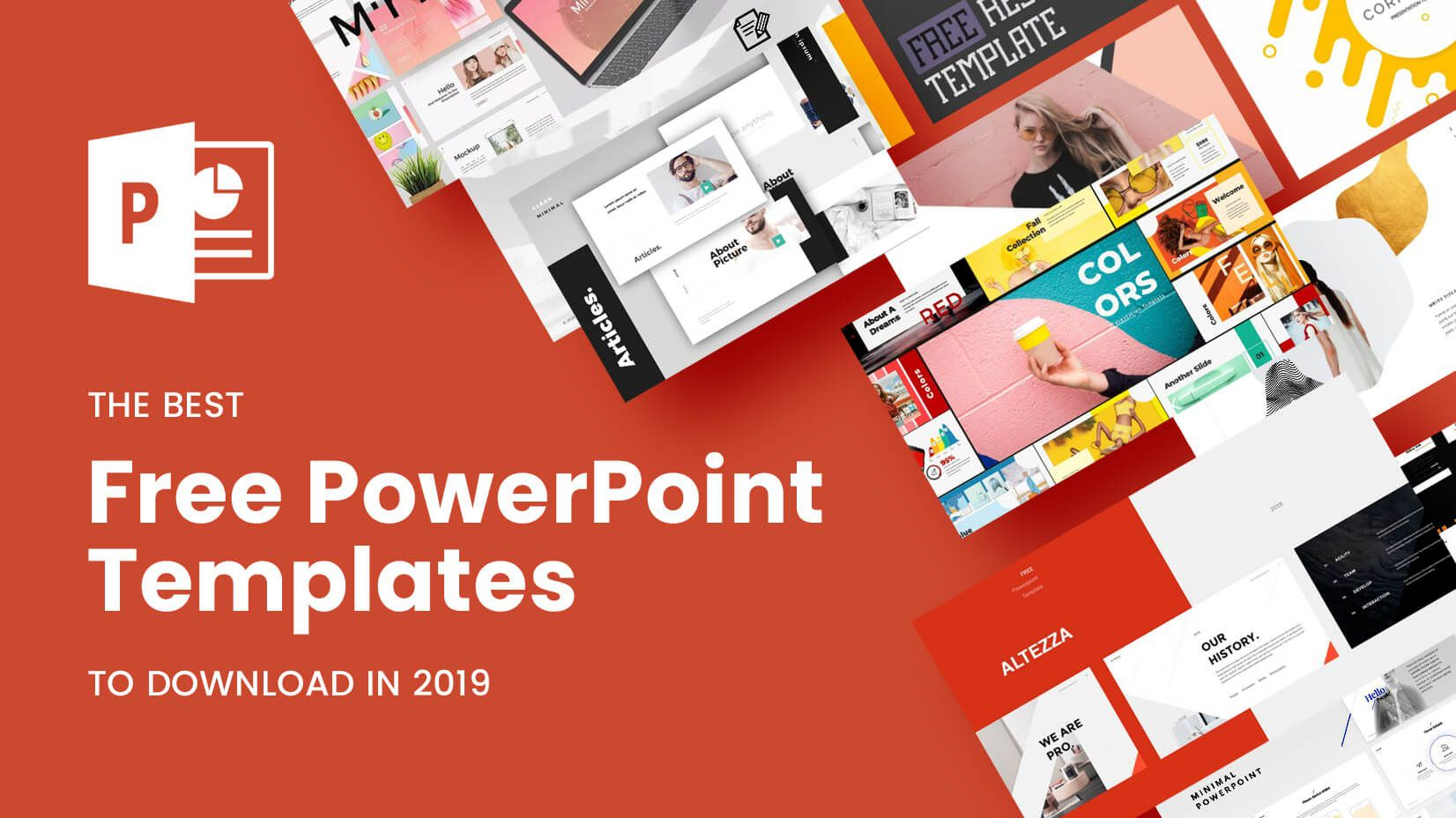 010 Staggering Ppt Template Free Download Highest Clarity  Powerpoint 2020 Microsoft History 2018Full