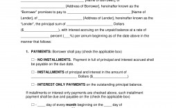 010 Staggering Promissory Note Template Microsoft Word High Definition  Form Free