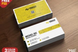 010 Staggering Simple Busines Card Design Template Free High Resolution  Minimalist Psd Download