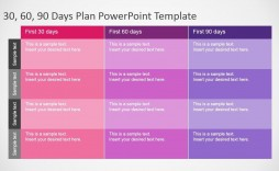 010 Stirring 100 Day Planning Template Concept  Plan Powerpoint Free New Job Example