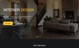 010 Stirring Interior Design Website Template Photo  Templates Company Free Download Html